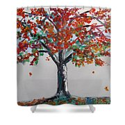 Homage To Autumn Shower Curtain