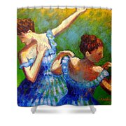Homage To Degas Shower Curtain