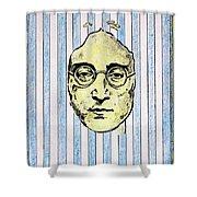 Homage To John Lennon  Shower Curtain by John  Nolan