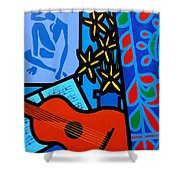 Homage To Matisse I  Shower Curtain