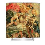 Homage To Rubens Shower Curtain
