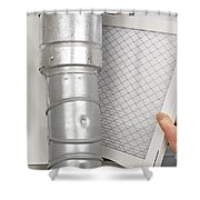 Home Air Filter Replacement Shower Curtain
