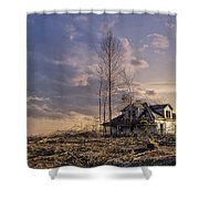 Home Forgotten Shower Curtain