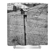 Home Home On The Range Shower Curtain