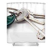 Home Keys Shower Curtain