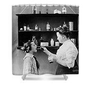 Home Medicine, C1900 Shower Curtain