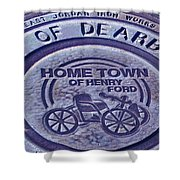 Home Of Henry Ford Shower Curtain