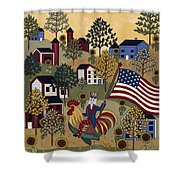 Home Of The Brave Shower Curtain