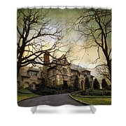 Home On A Hill Shower Curtain