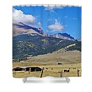 Home On The Range - A Westcliffe Ranch Shower Curtain