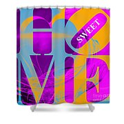 Home Sweet Home 20130713 Fractal Heart V1 Shower Curtain by Wingsdomain Art and Photography
