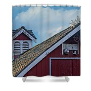 Home To Roost Shower Curtain