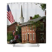 Home Town Usa Shower Curtain