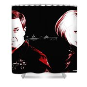 Homeland - Large Size Portraits Shower Curtain