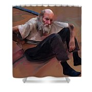 Homeless 3 - A Place To Rest Shower Curtain
