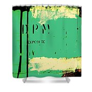 Homeless Shelter Shower Curtain by Chris Berry