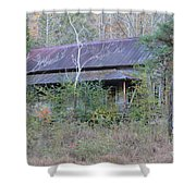 Homes With History Shower Curtain