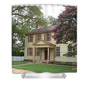 Homestead In Colonial Williamsburg Shower Curtain