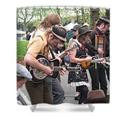 Homestyle Band Shower Curtain