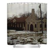 Homewood Station Shower Curtain
