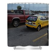 Honda Z600 Shower Curtain