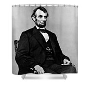 Honest Abe Shower Curtain