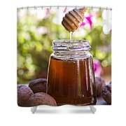 Honey Shower Curtain