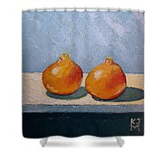 Honeybells - The Perfect Couple Shower Curtain