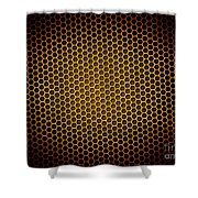 Honeycomb Background Shower Curtain