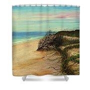 Honeymoon Island Florida Shower Curtain