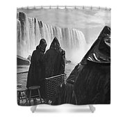 Honeymooners At Niagara Falls Shower Curtain