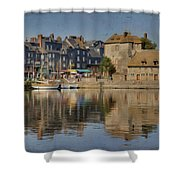 Honfleur In Normandy France Shower Curtain