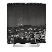 Hong Kong 1987 Shower Curtain