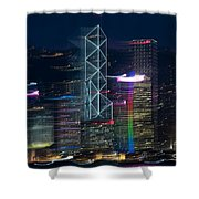 Hong Kong Shower Curtain