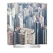 Hong Kong Suburbs Shower Curtain