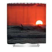 Honolulu At Sundown Shower Curtain