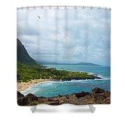 Honolulu Hi 10 Shower Curtain