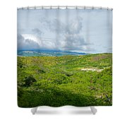 Honolulu Hi 13 Shower Curtain