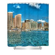 Honolulu Hi 2 Shower Curtain
