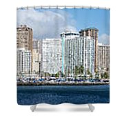Honolulu Hi 3 Shower Curtain