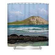 Honolulu Hi 5 Shower Curtain