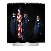 Honor Guard Shower Curtain