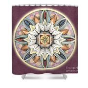 Honor Mandala Shower Curtain