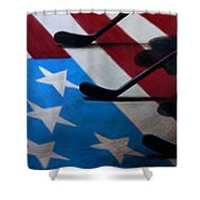 Honoring America Shower Curtain by Marlon Huynh