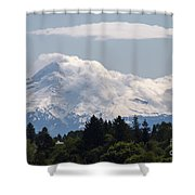 Hood In The Clouds  Shower Curtain