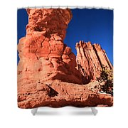 Hoodoo And Towers Shower Curtain