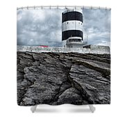 Hook Head Lighthouse Shower Curtain