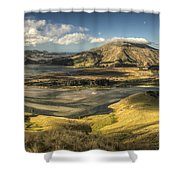Hoopers Inlet And Cape Saunders New Shower Curtain