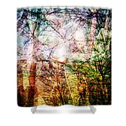 Hoosier Country Opus 1 Shower Curtain