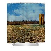 Hoosier Farm Shower Curtain